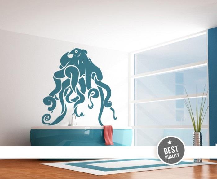 Octopus Vinyl Wall Decals