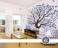 Wall Murals For Living Room Big Tree - By Artollo