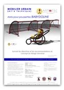 Abri pour poussettes BABYDOLINE Mobilier urbain