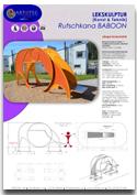 Rutschkana BABOON ARTOTEC lekskulpturer och park/urbana möbler med KONST & TEKNIK