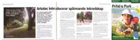 Artikel i Fritid & Park i Sverige nummer 4, september 2009