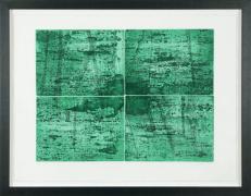 [Clin d'art #158] «J'ai une forêt». 2015. Julianna Joos. Eau forte et aquatinte. 60.5 x 84 cm 15 $ par mois pour un particulier (taxes incluses). © L'Artothèque. Tous droits réservés.