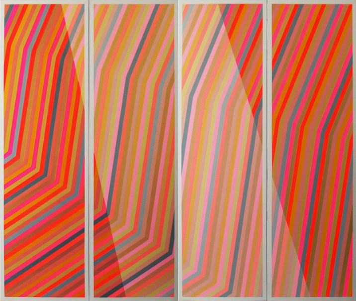 """Michel-Pierre Lachance, """"Hommage à Fra Angelico"""" (2010), acrylique sur toile."""