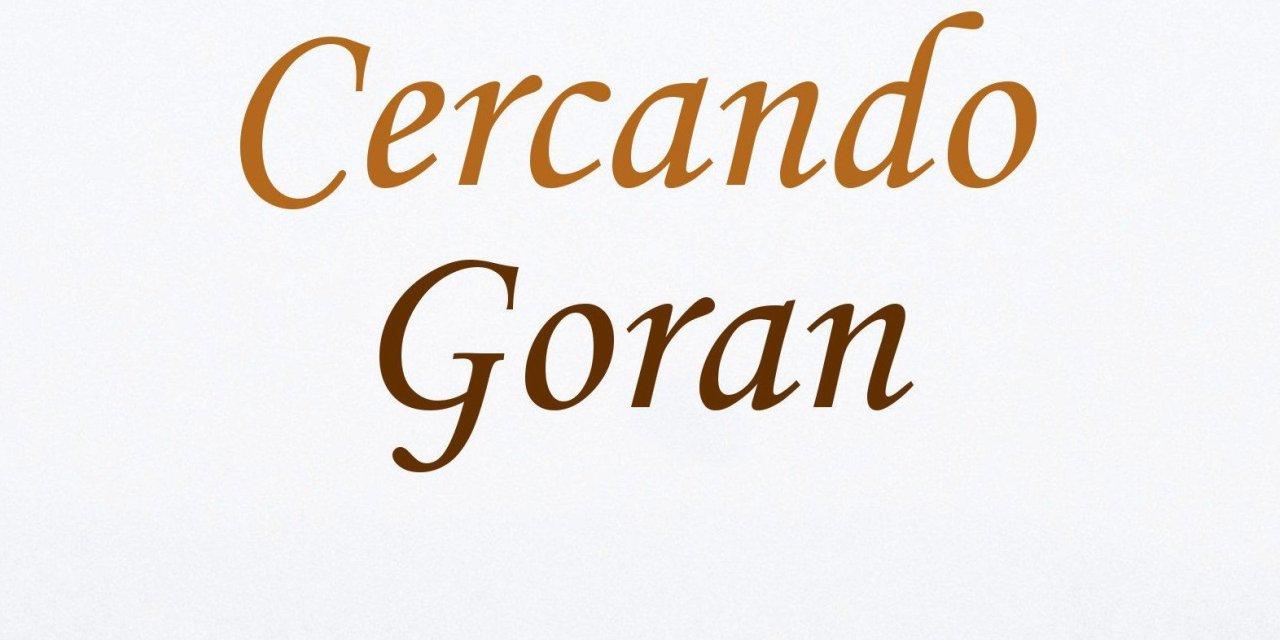 """""""Cercando Goran"""" – Grazia Gironella"""