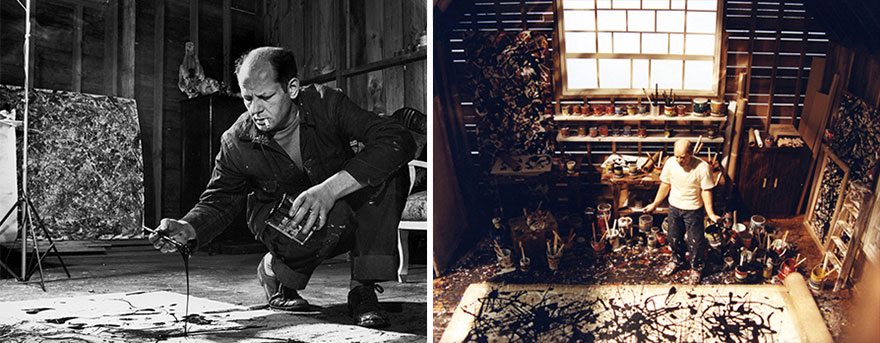 Famous Artists And Their Studios