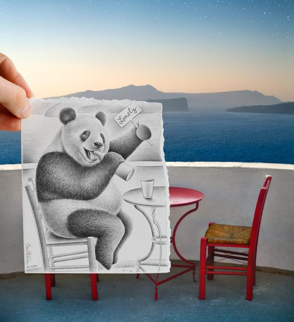 Ben Heine Pencil . Camera - Art People
