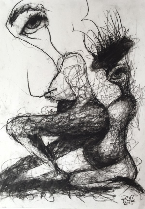 Ruth Chase Primarily Works In Charcoal Wood Paper - Art People