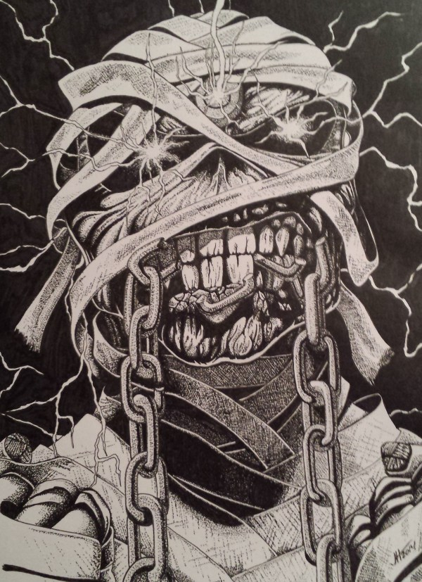 Iron Maiden Eddie Drawings