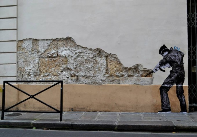 The Site Specific Street Art by French Artist Charles