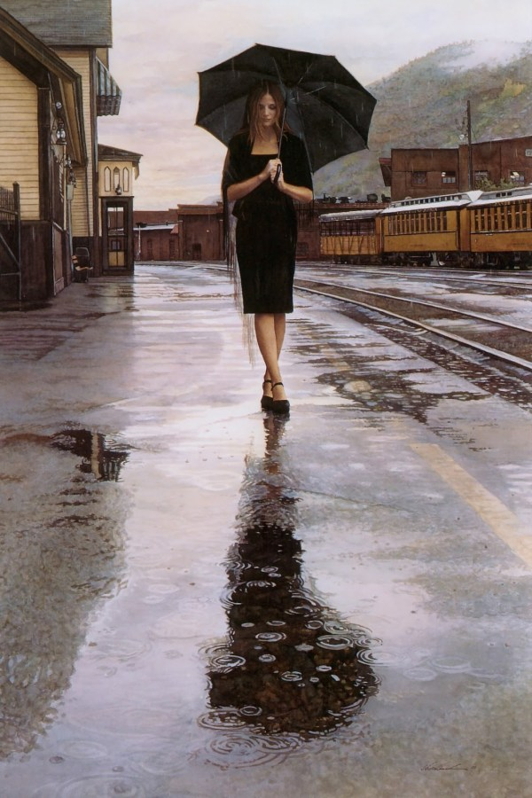 By Steve Hanks Watercolor Paintings