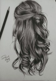 pencil drawings - art people