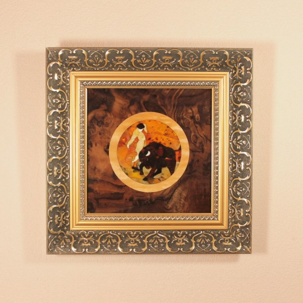 Mosaic Wall Natural Baltic Amber - Art