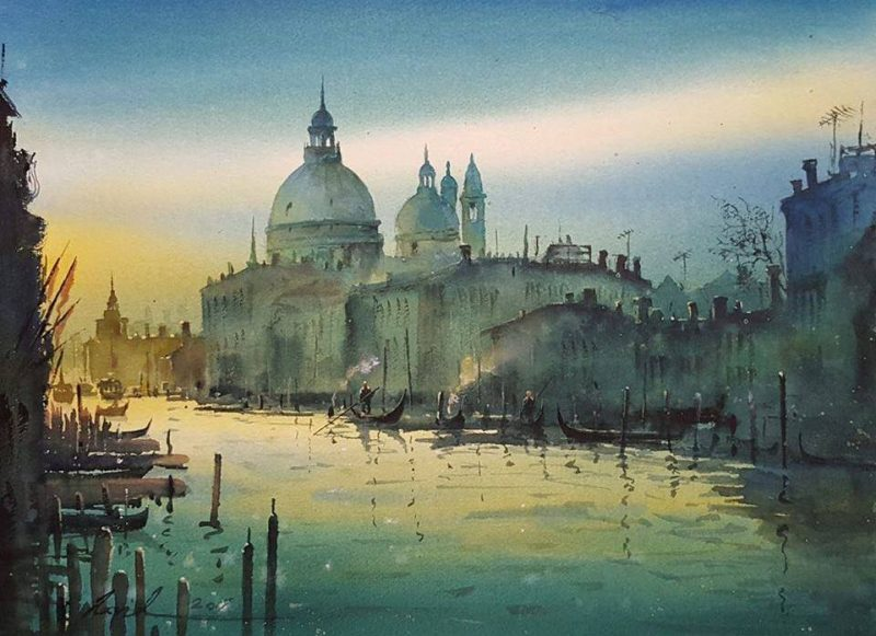 Stunning Watercolor Art by Javid Tabatabaei  Art People Gallery