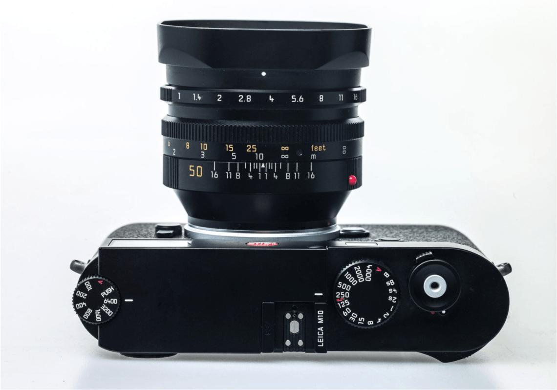 Leica M10 Top View