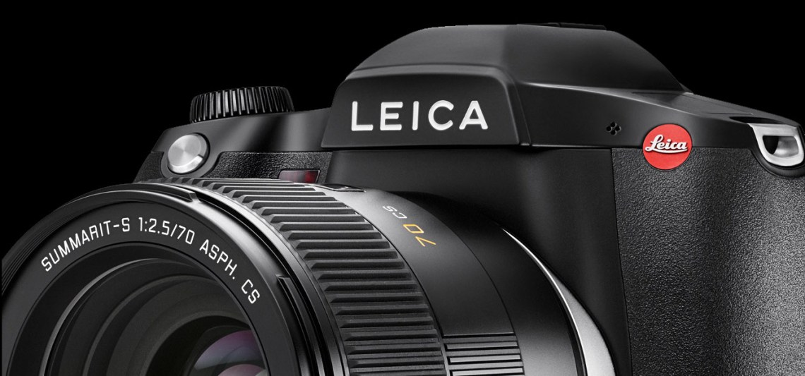 Fig. 4 Leica S007, Leica Summarit-S 2.4/70 CS with leaf shutter