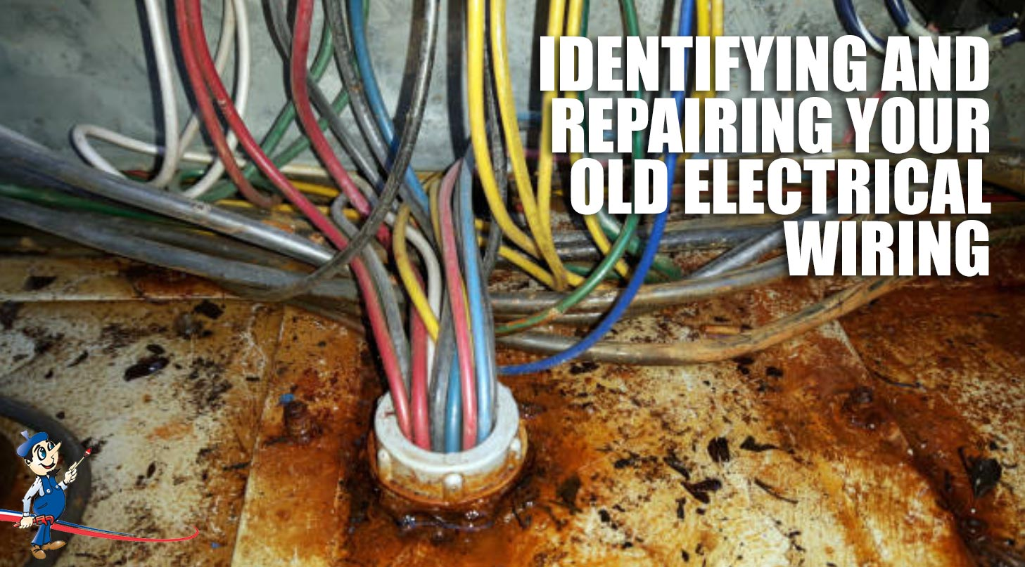 hight resolution of old electrical wiring