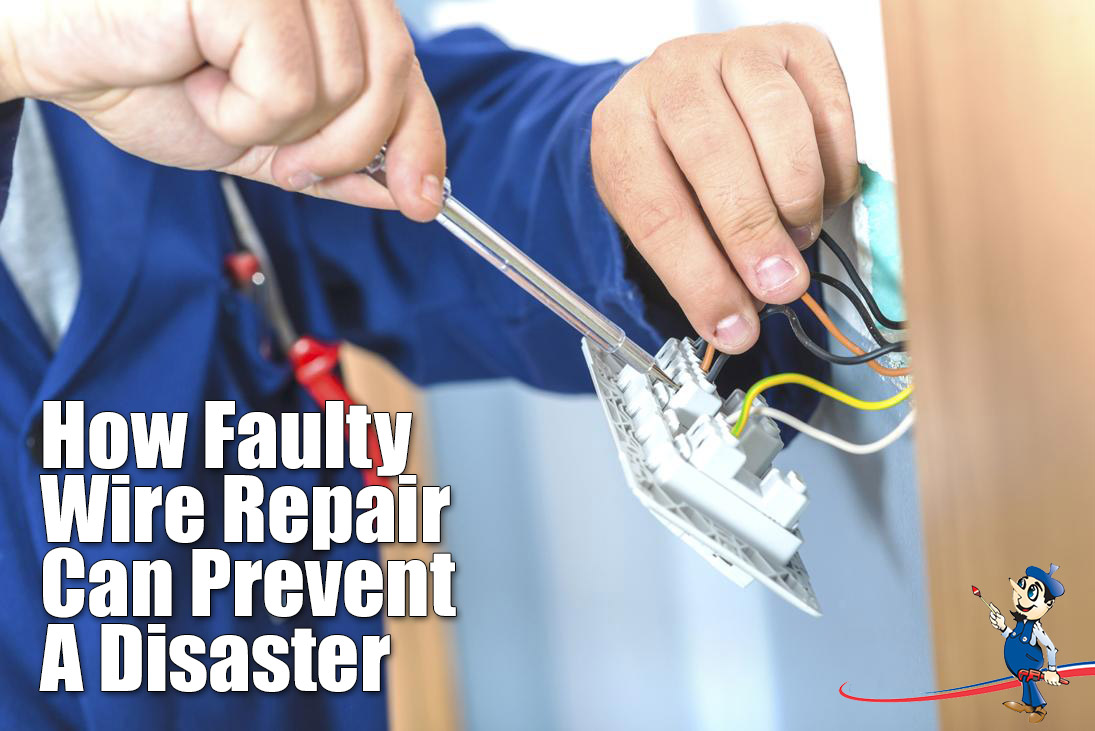 hight resolution of faulty wire repair