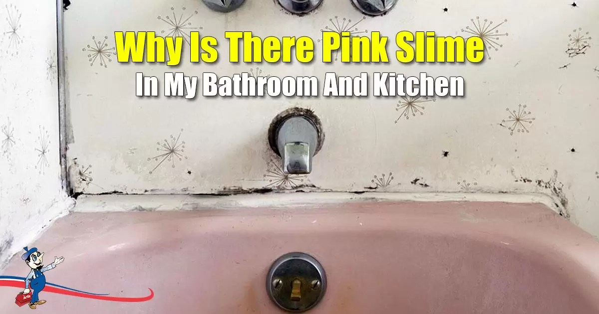 pink slime in my bathroom time for a home water treatment system