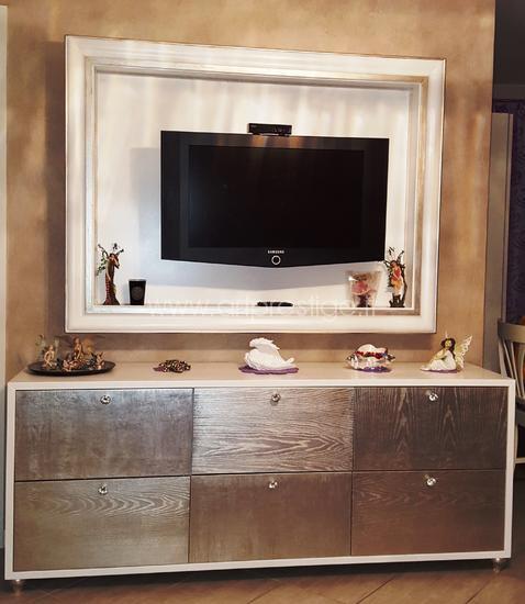 Credenza e Cornice Porta Tv  Art Prestige  Luxury Furniture