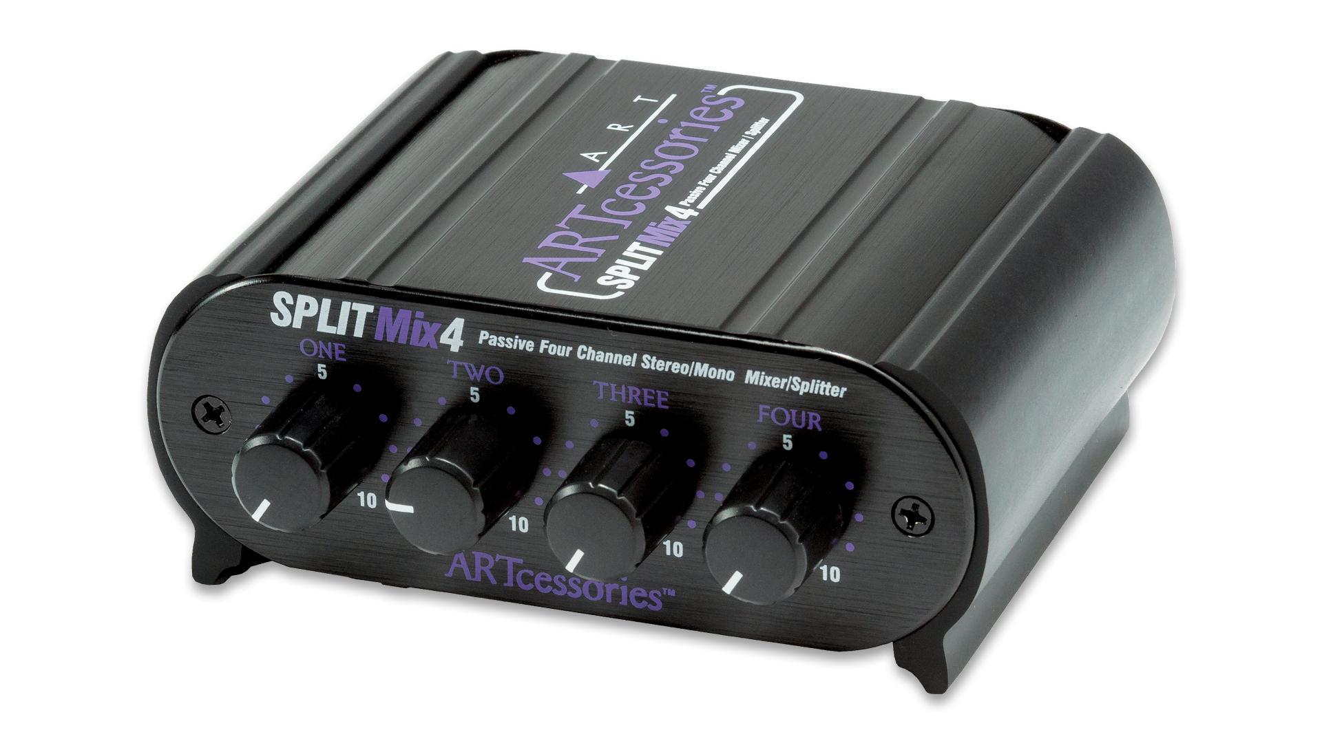 Passive Headphone Splitter With Volume Control Per Headphone
