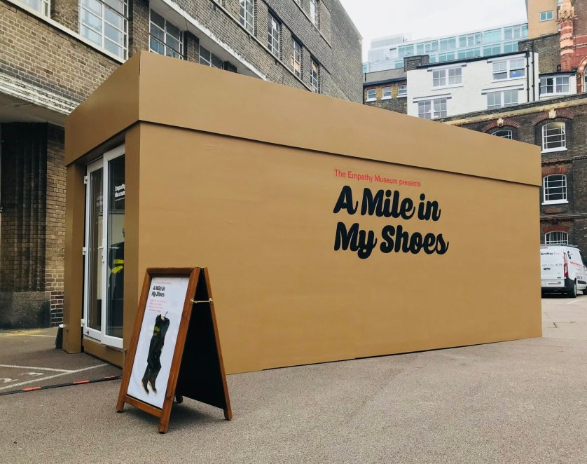 In The Box: Empathy Museum presents A Mile In My Shoes