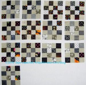 Black & Grey Donation Blocks