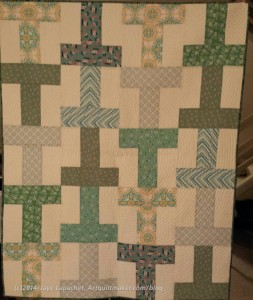 Green T Donation Quilt