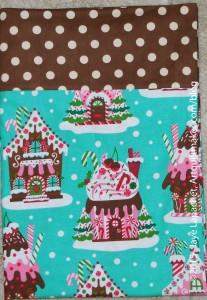 Gingerbread House Pillowcase