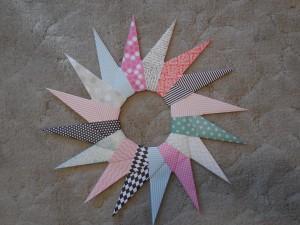 Origami Paper Wreath