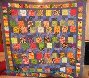 Food Quilt #2: Finished