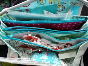 Sew Together Bag in my lap