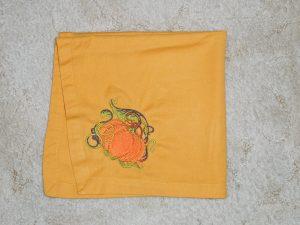 Pumpkin Napkin