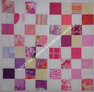 More pink + 1 purple block