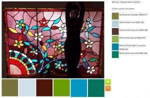 Leaded Glass - palette n.3
