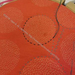 Big Stitch sample piece