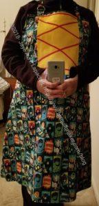 Superheroine apron
