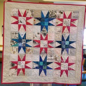 Joelle's Peaky & Spike quilt