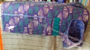 Sewing Machine Mat from front