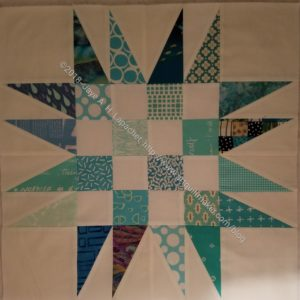 5th Spiky Star for quilt n.3