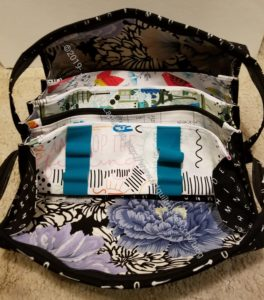All Rolled Up Tote - open