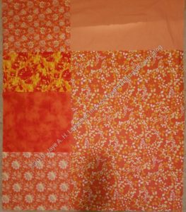 Fun & Cheerful Donation Quilt Back