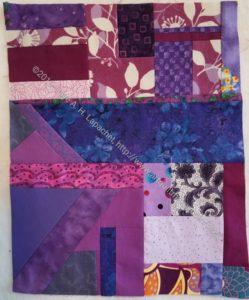 Purple improv shard n.1