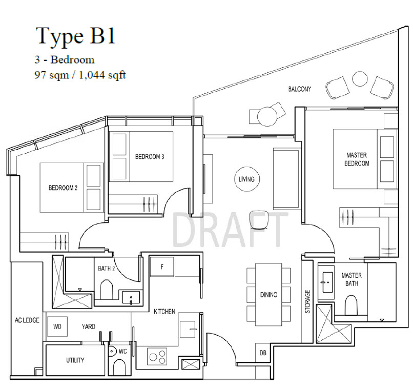Floor Plans Layout for Tang Group Artra Condo