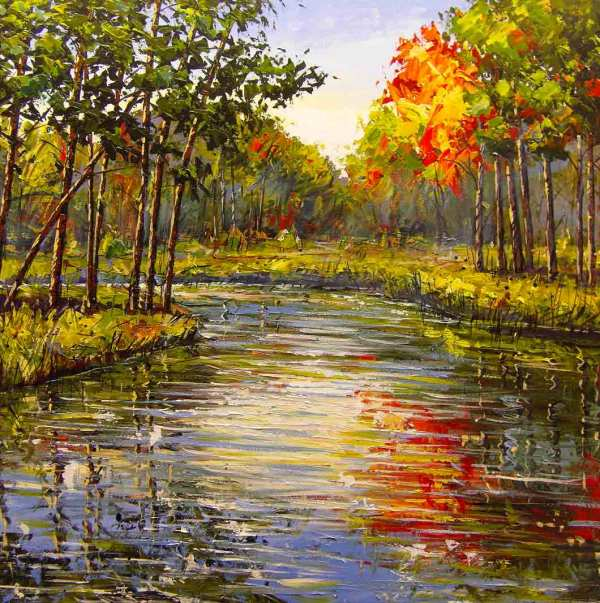 Landscape Paintings On Canvas