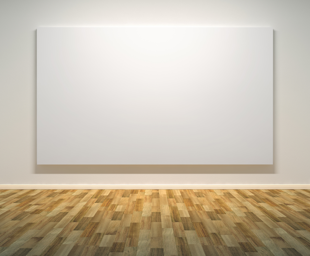 white canvas paintings
