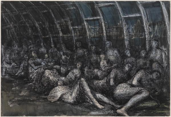 Henry Moore War Drawings