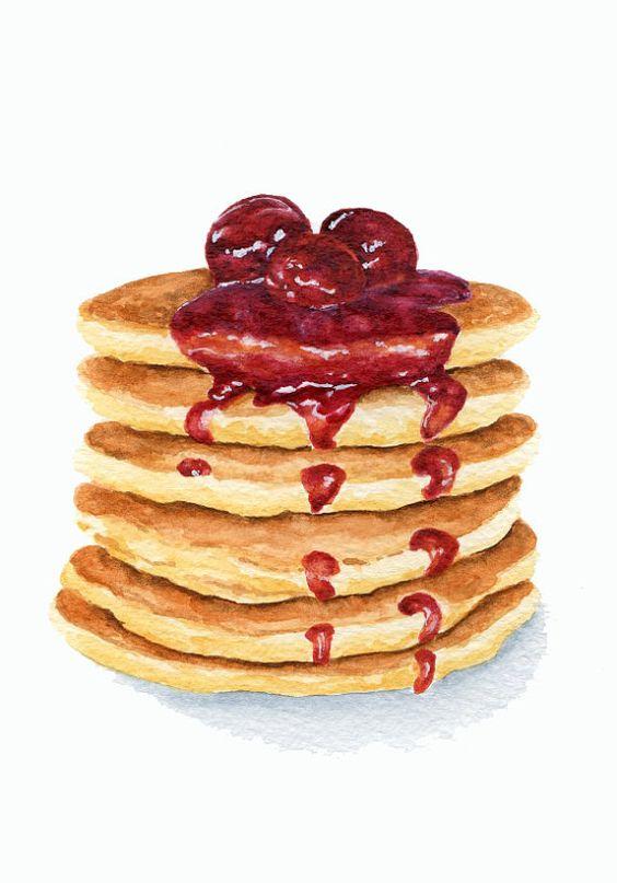 pancake paintings