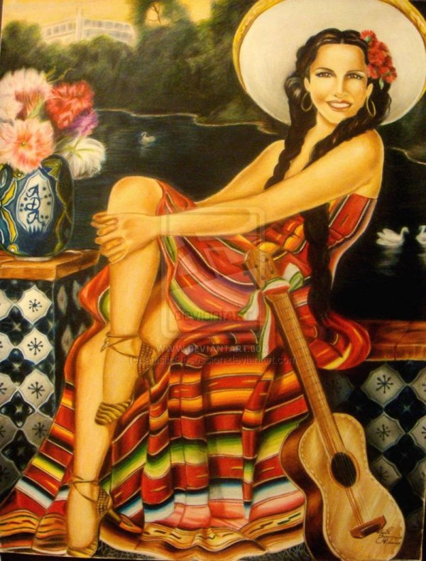 Traditional Mexican Paintings
