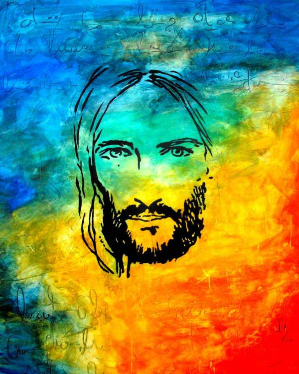 Jesus Christ Art Paintings