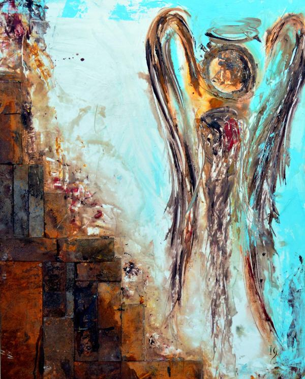 Contemporary Angel Paintings
